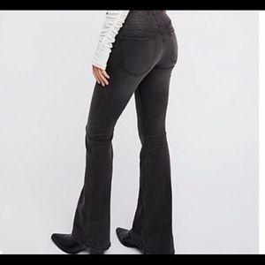 Free People pull on black jeans